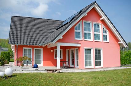 modernes Einfamilienhaus, Haus fr die Familie