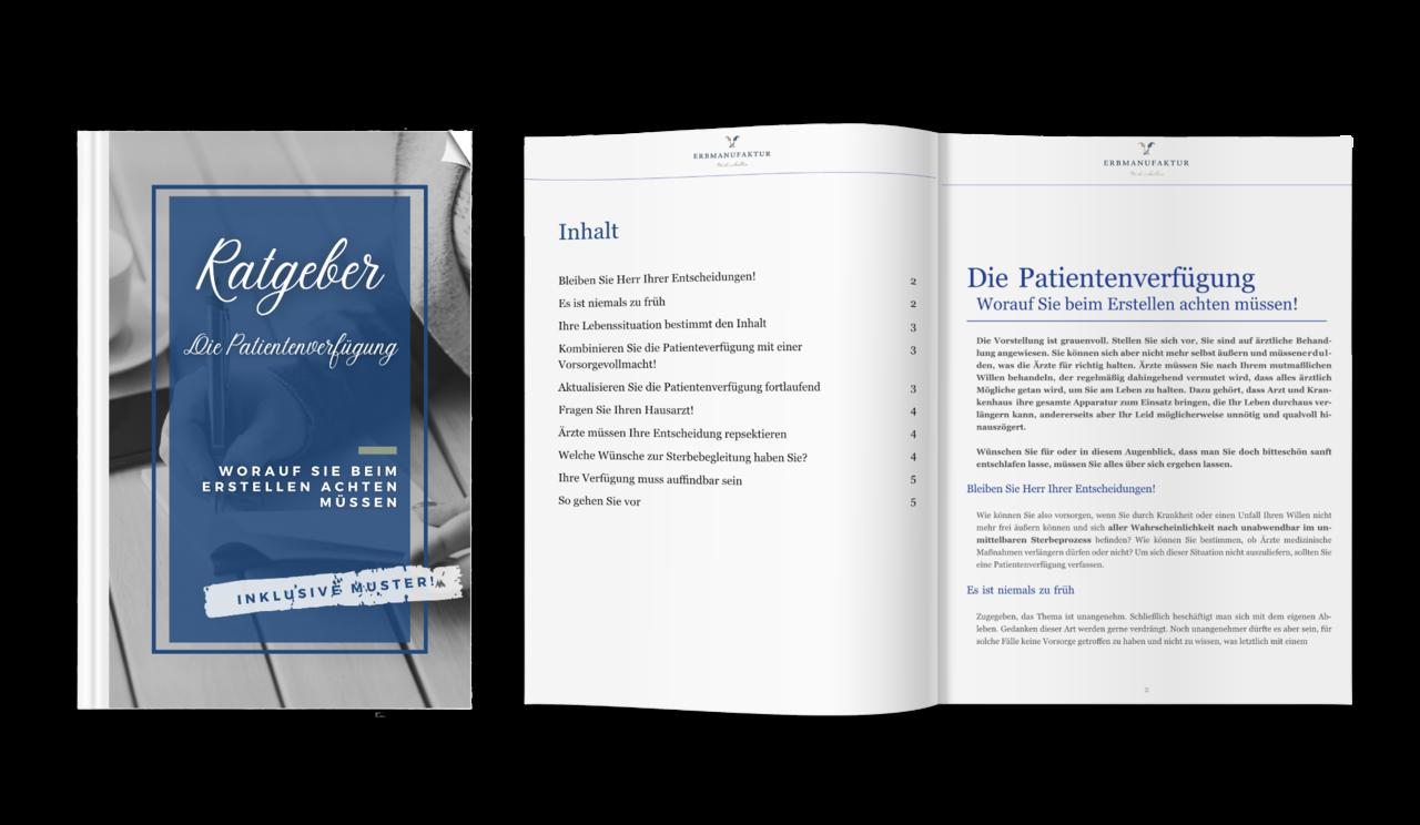 Ratgeber: Die Patientenverfügung